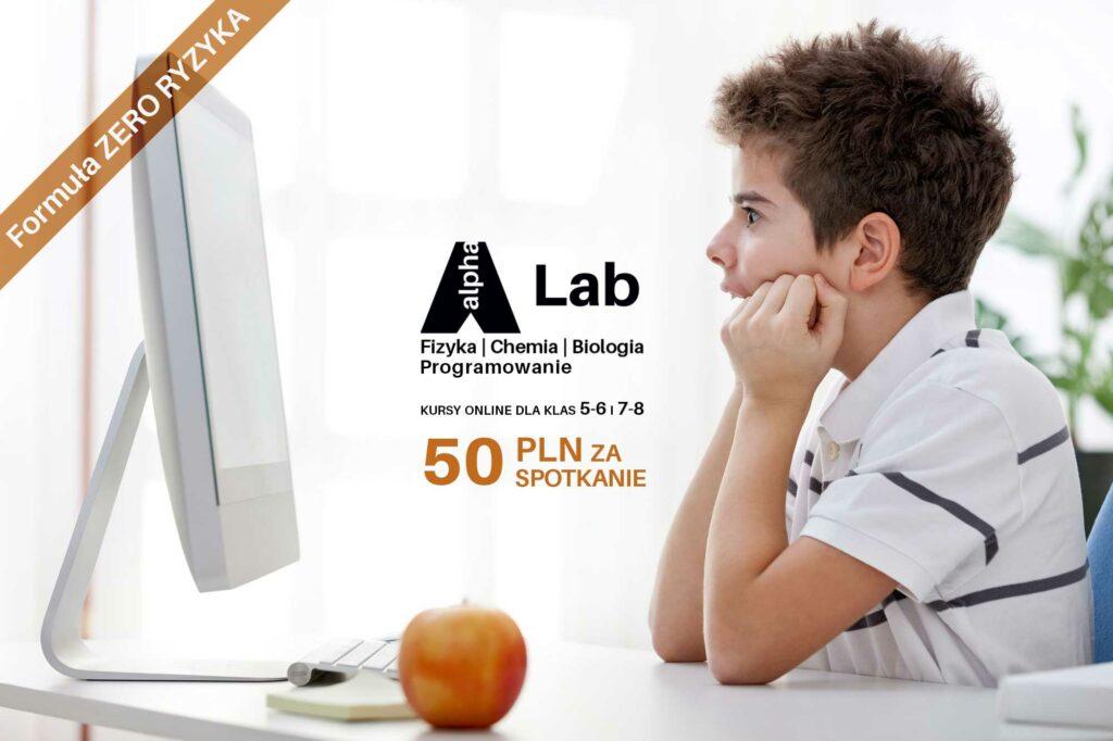 AlphaLab by AlphaCamp - kursy online dla klas 5-6 i 7-8
